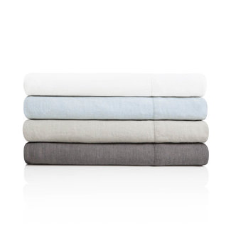 Malouf Woven French Linen Sheet Set