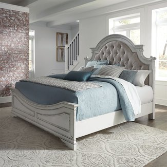 Liberty Furniture Magnolia Manor (244-BR) Queen Upholstered Bed