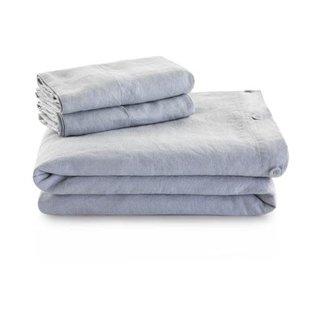 Malouf Woven French Linen Duvet Cover