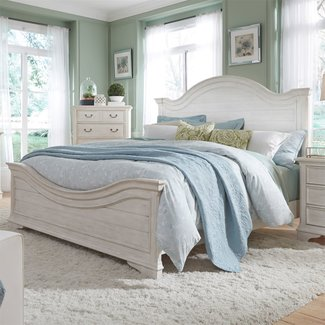 Liberty Furniture Bayside (249-BR) Queen Panel Bed SKU: 249-BR-QPB