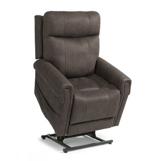 Flexsteel Jenkins | Power Lift Recliner with Right-Hand Control and USB Port