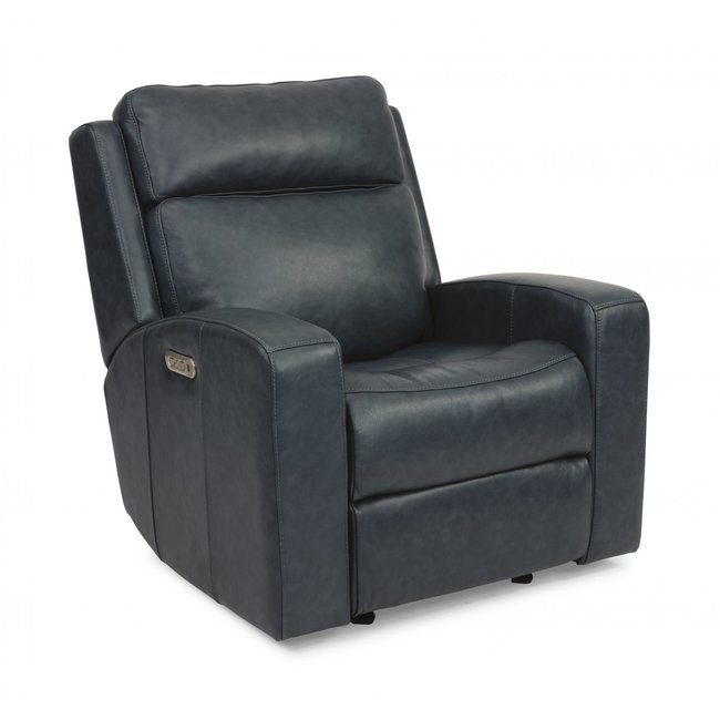 Cody Power Glider Leather Recliner