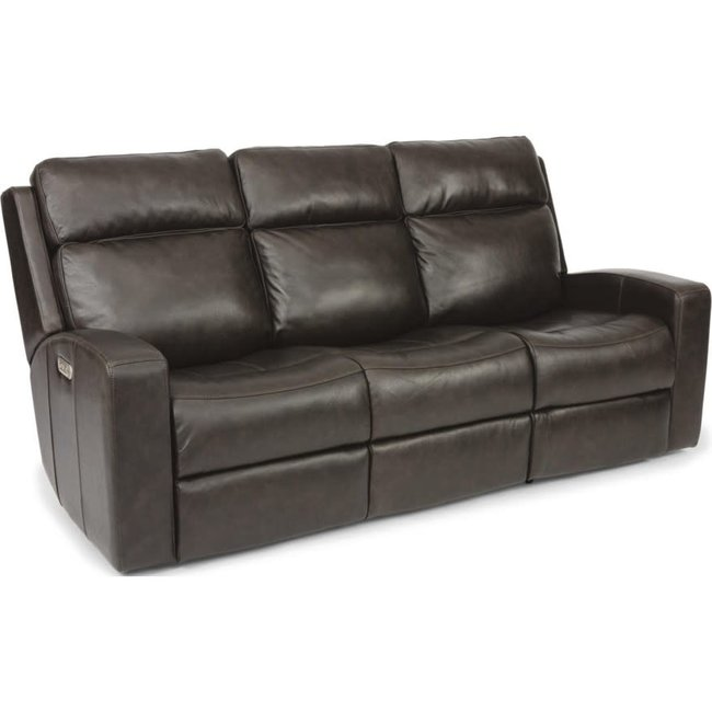Flexsteel® Cody Power Reclining Leather Sofa