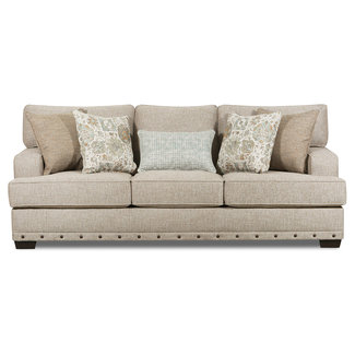 Lane Home Furnishings Bravaro Old Forge Linen Sofa-8016-03-9782A