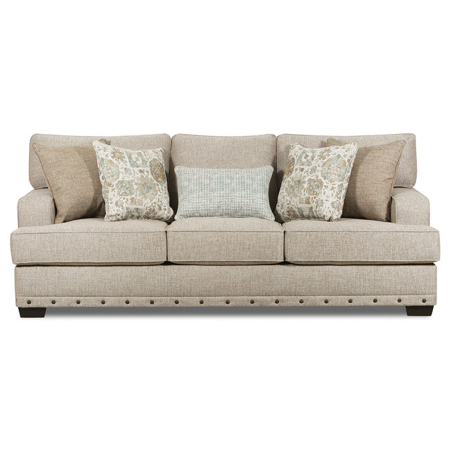 Lane® Home Furnishings Bravaro Old Forge Linen Sofa-8016-03-9782A