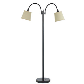 CAL Lighting BO-2444FL-DB 40W X 2 Gail Metal Lp W/Goose Neck