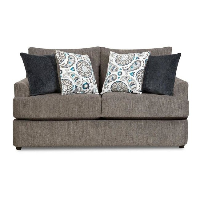 Lane® Home Furnishings Lane® Home Furnishings 8540 Grandstand Flannel Loveseat-8540BR-02-8841A