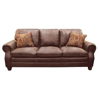 Lane Home Furnishings 8069 Shiloh Tobacco Sofa-8069-03-8973A