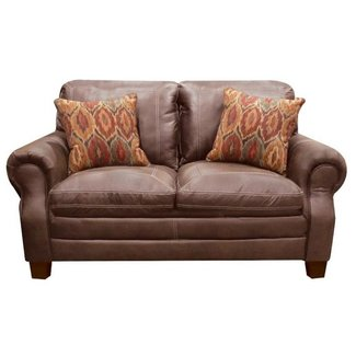Lane® Home Furnishings 8069-02  Shiloh Tobacco Loveseat-8069-02-8973A