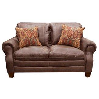 Lane Home Furnishings 8069 Shiloh Tobacco Loveseat-8069-02-8973A