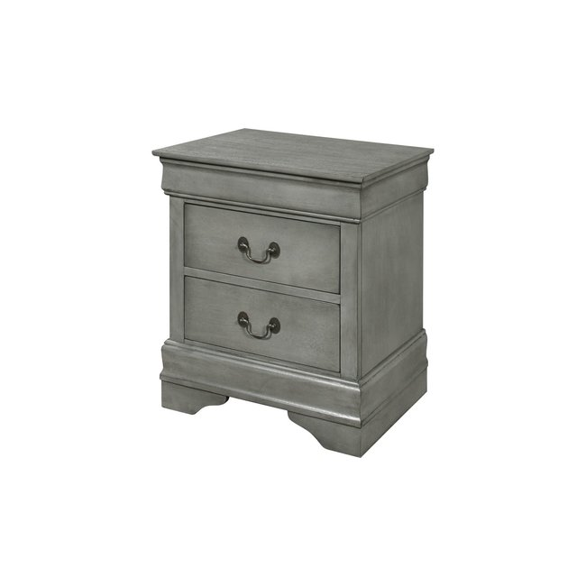 Crown Mark Louis Philip Nightstand