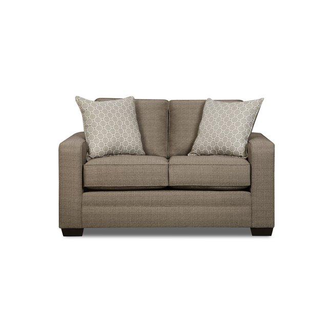 Lane® Home Furnishings Loveseat - Seguin Pewter 9065-02-8839B.