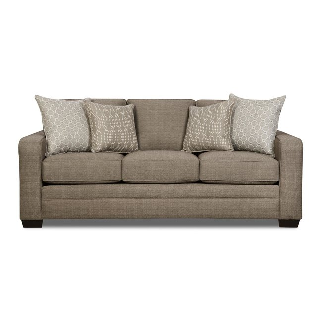 Lane® Home Furnishings Lane® Home Furnishings 9065 Seguin Pewter Sofa-9065-03-8839A