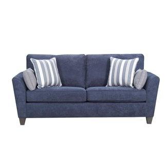 Lane Home Furnishings Prelude Navy Sofa-7081-03-9267A