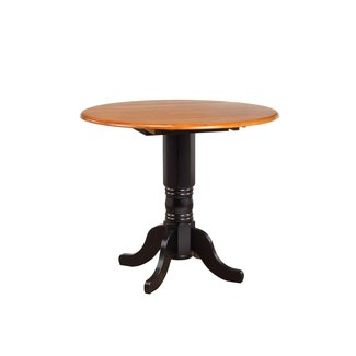 "Sunset Trading 4242 | 42"" Round Drop Leaf Pub Table"