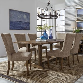 Liberty Furniture Havenbrook 7 Piece Trestle Table Set  - Only $1699.99 CLOSEOUT