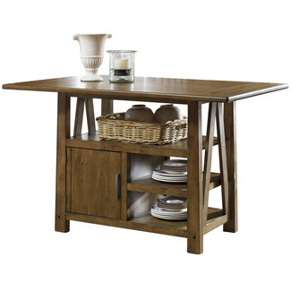 "Liberty Furniture Farmhouse Collection 139-GT3660 60"" Center Island Table"