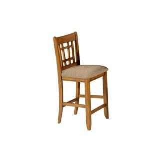 "Liberty Furniture 25-BS8630 Santa Rosa Pub 30"" Mission Barstool - Set of 2"