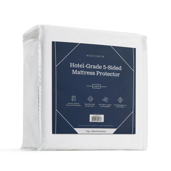 Weekender® Hotel-Grade 5-Sided Mattress Protector