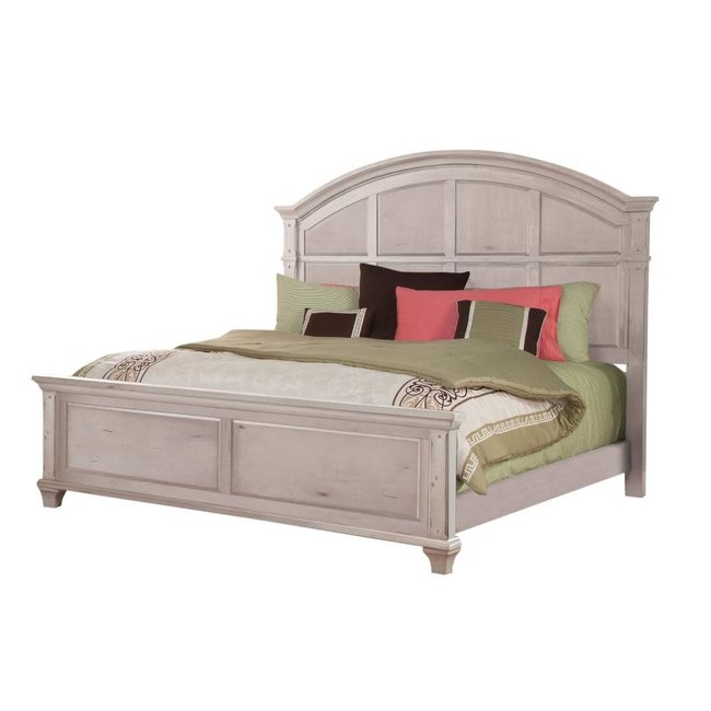 American Woodcrafters Sedona Vintage Style 241 Bed White