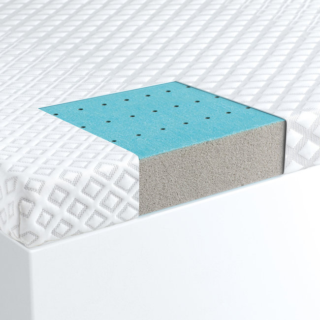Malouf CarbonCool® LT OmniPhase® Topper with IceTech cover