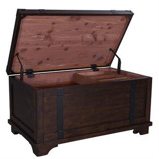 Liberty Furniture Aspen Skies (316-OT) Storage Trunk SKU: 316-OT1010