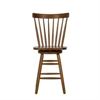 Liberty Furniture Creations II (38-CD) 24 Inch Swivel Counter Chair - Tobacco SKU: 38-B1724