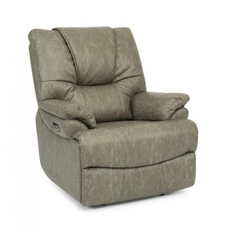Flexsteel Furniture Willis 1719 Fabric Power Recliner