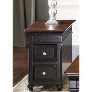 Liberty Furniture Chairside Table 2 Drawer