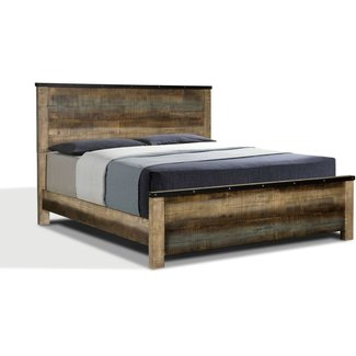 Coaster 205091Q Queen Size Sembene 205091Q Bed Brown