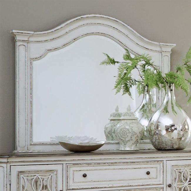 Liberty Furniture Magnolia Manor Arched Mirror 244-BR52