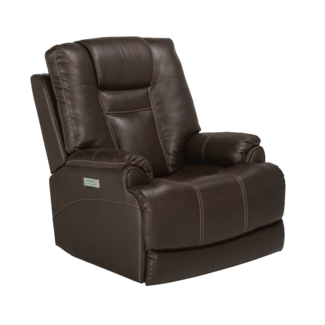 Flexsteel® Marley Power Recliner with Power Headrest