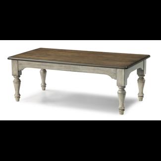 Flexsteel Furniture Plymouth | Rectangular Cocktail Table