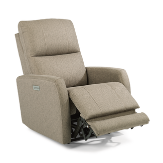 Flexsteel® Sadie | Fabric Power Recliner with Power Headrest 1702-50PH