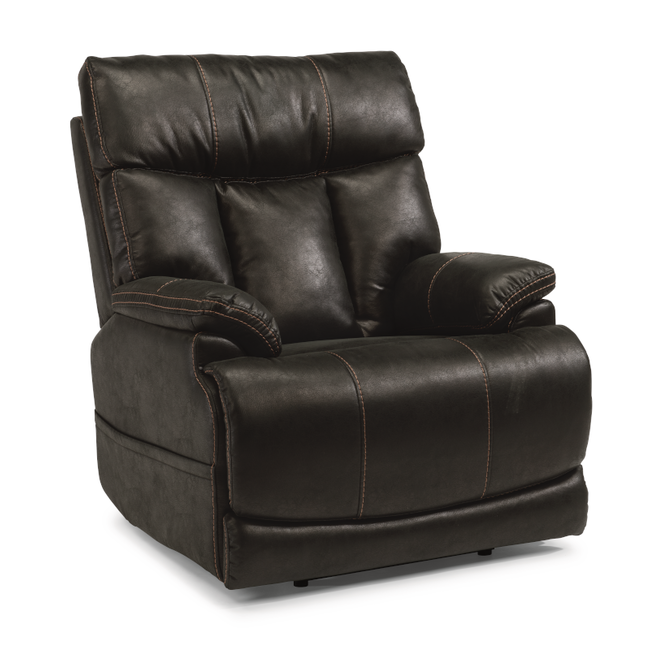 Flexsteel® Clive |  1594-50PH Power Recliner with Power Headrest and Lumbar