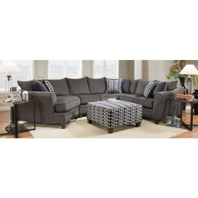 Lane® Home Furnishings 6485 Albany Slate Sectional -6485
