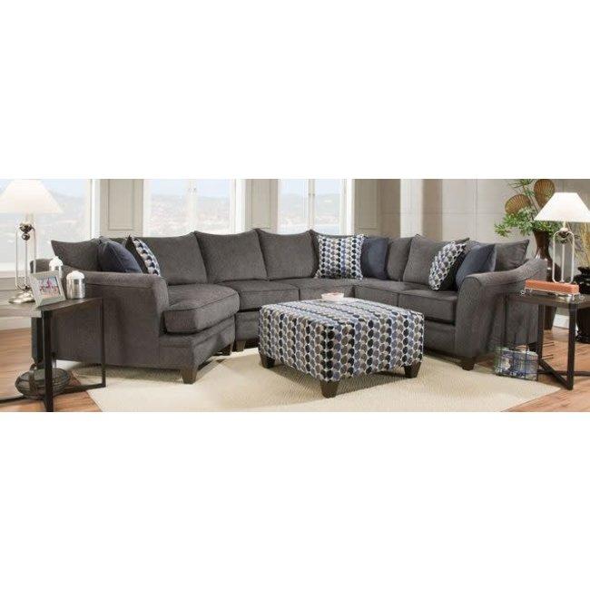 lane home furnishings albany slate sectional 6485