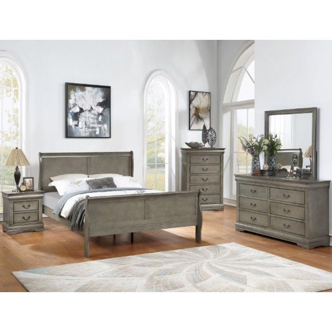 Crown Mark Louis Philip 5 Piece Bedroom Set