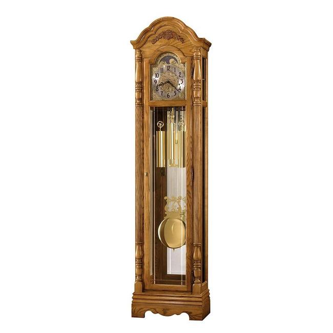 Howard Miller Parson Floor Clock in Golden Oak