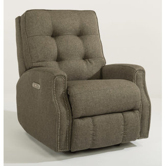 Flexsteel Furniture Recliner w/ Nailheads
