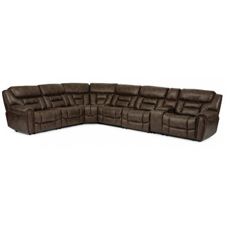 Flexsteel Furniture Buster 7-Piece Sectional