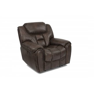 Flexsteel Furniture Power Recliner With Power Headrest  Buster