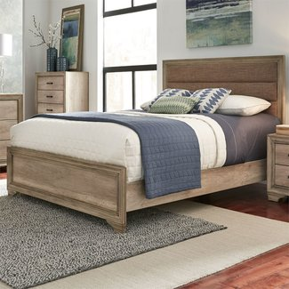 Liberty Furniture Sun Valley Queen Upholstered Bed (439-BR-QUB)