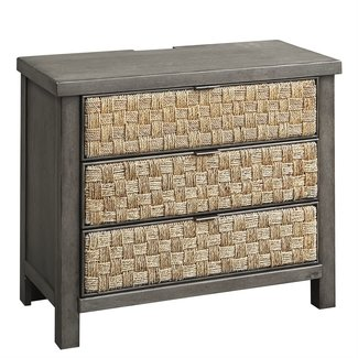 Liberty Furniture Modern Farmhouse 3 Drawer Accent Night Stand 406-BR62