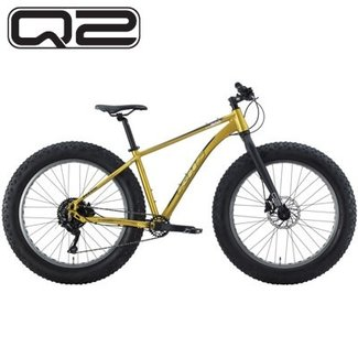 KHS 4 Season 500 Q2 Aluminum Fork Fat Tire Bike Metallic Gold 2020