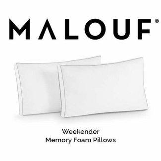 Weekender® Shredded Memory Foam Pillow (2 Pack), Queen