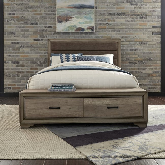 Liberty Furniture Sun Valley Queen Storage Bed (439-BR-QSB)