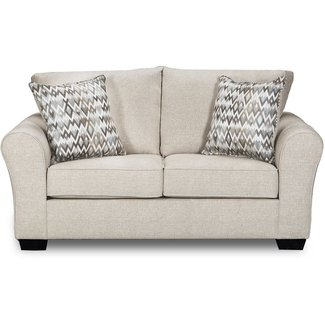 Lane® Home Furnishings Boston Linen Loveseat-1657-02-9281D