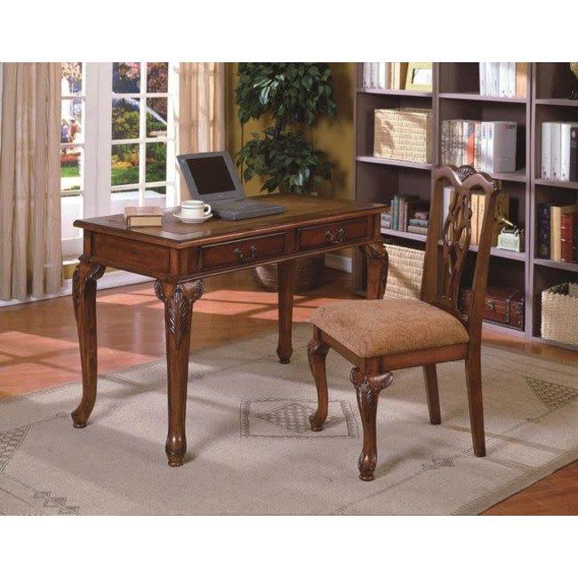 Crown Mark Fairfax Home Office Desk and Chair Set-5205SET