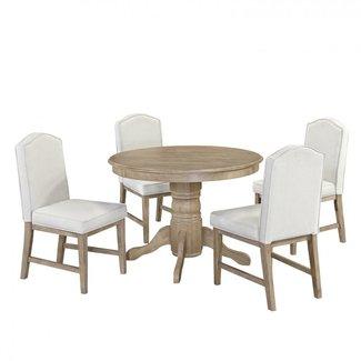 homestyles® Cambridge White 5 Piece Dining Set - 5170-3081